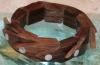 Armband aus Suarholz Schuppe