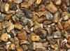 50 Stück Edelsteinsplitter gebohrt Tigerauge
