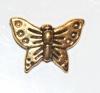Schmetterling Antikgold