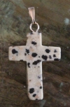 Kreuzanhänger Dalmatinerjaspis